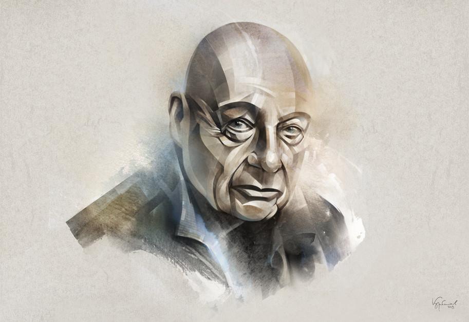 Journalist Vladimir Pozner