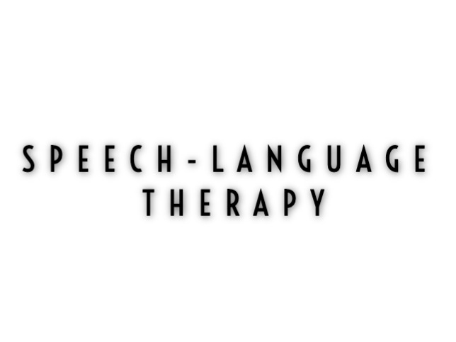 Speech - Language Therapy