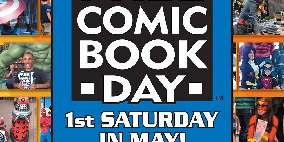 Signing at TFAW Portland for Free Comic Book Day