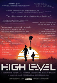 High Level Quote Poster
