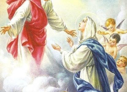 La Asunción de la Virgen al Cielo (15 de agosto)