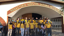 Visita a la comunidad de Hermanas Carmelitas de Luis Guillón