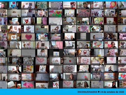 Encorazonados, encuentro virtual de docentes (24-10-2020) Testimonio I