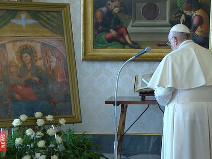 Mensaje del Papa Francisco por la pandemia