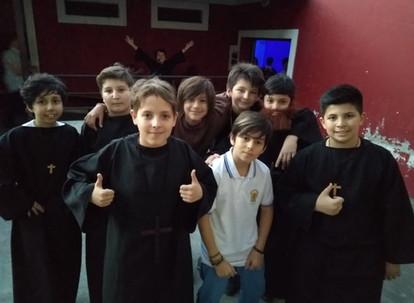 Festival de los Fundadores en el colegio de Lomas de Zamora
