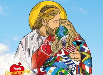 Estampa del Día del Sagrado Corazón