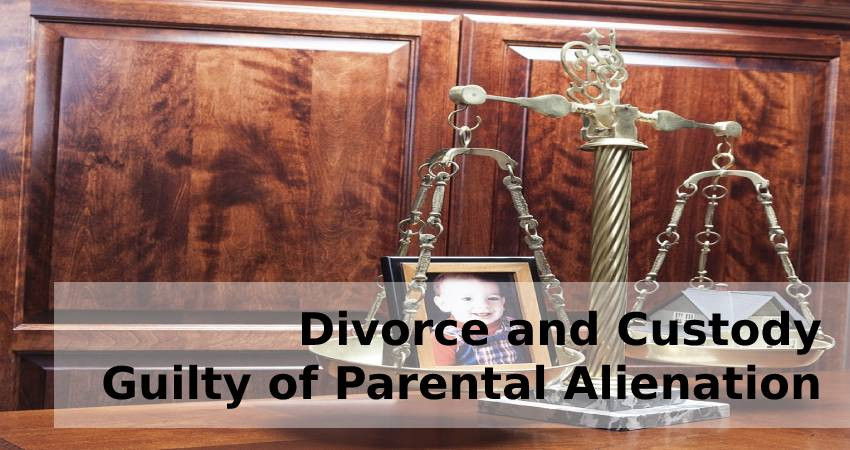 Divorce and Custody-Guilty of Parental Alienation
