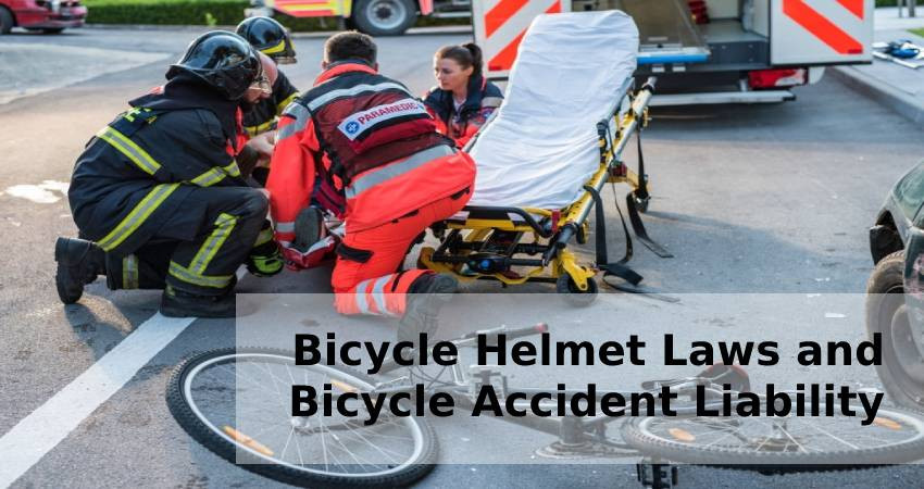 Bicycle Helmet Laws and Bicycle Accident Liability