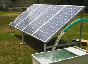Sistema de bombeamento movido a energia solar é alternativa para facilitar o acesso à água