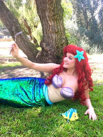 Daniella as Little Mermaid