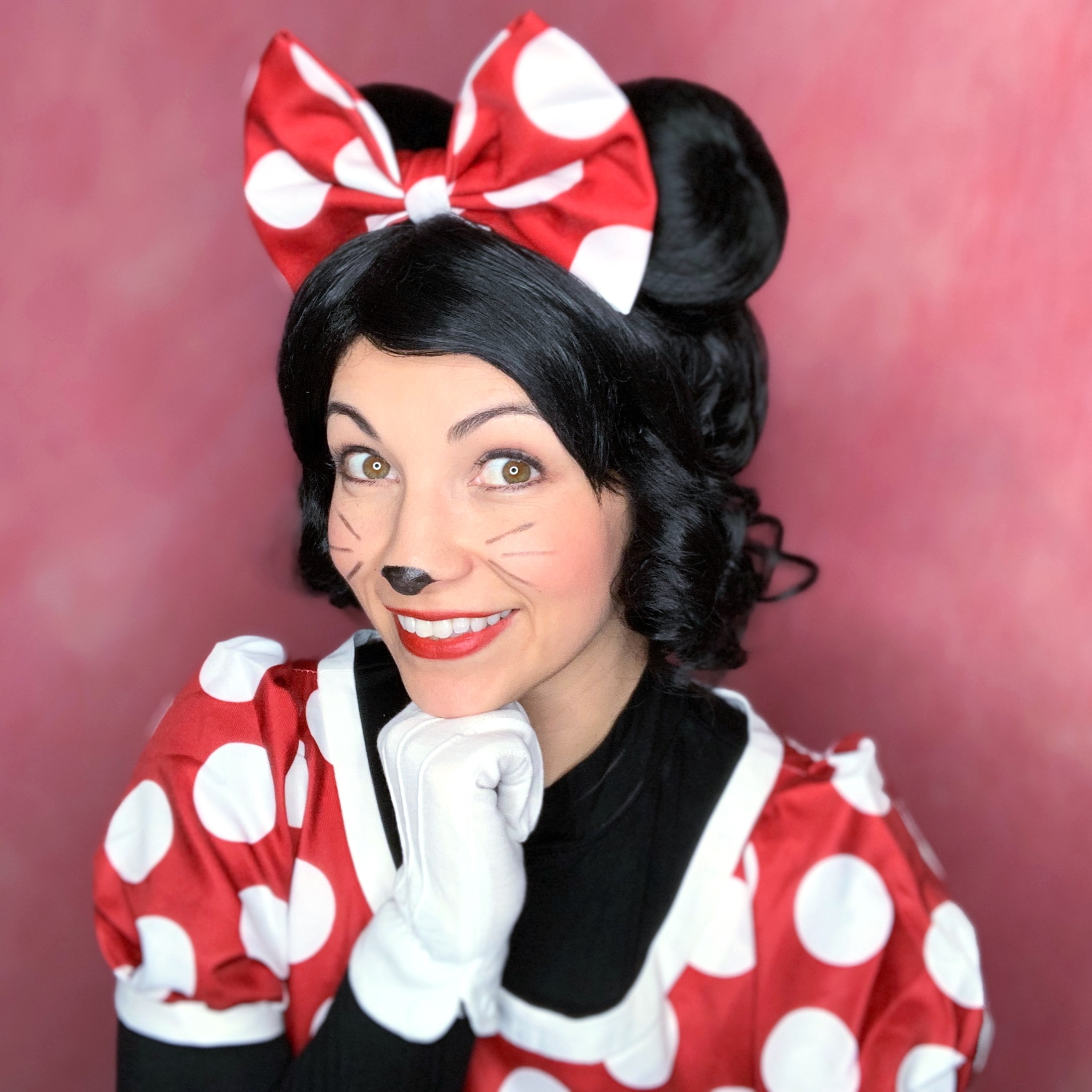 Andy as Mouse Girl