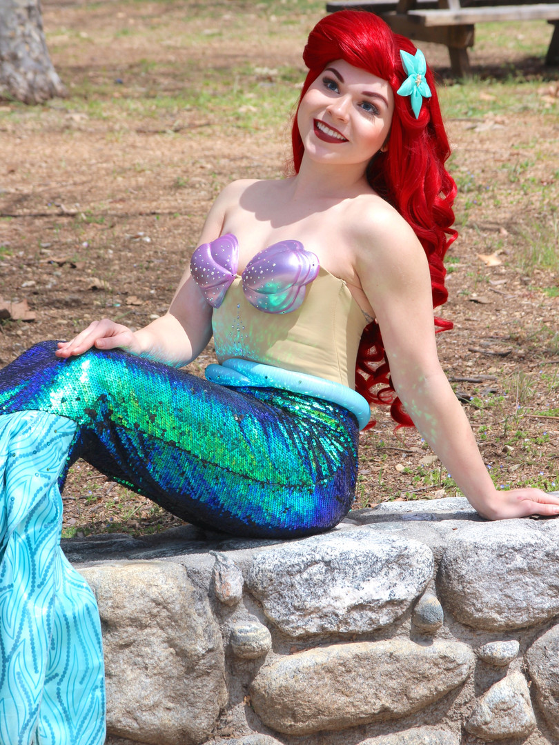 Sara as Little Mermaid