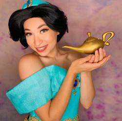 Lei as Arabian Princess