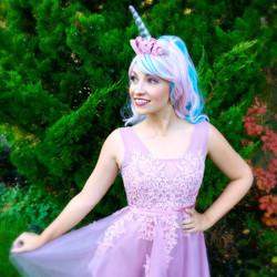 Andy as Unicorn Princess
