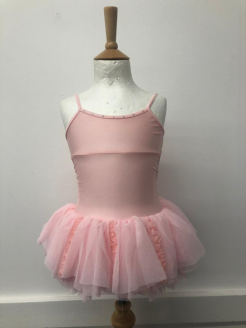 Bloch rose sleeveless tutu