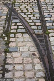 Old tracks on Dublin Quays