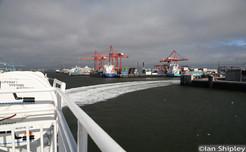 Leaving dublin port
