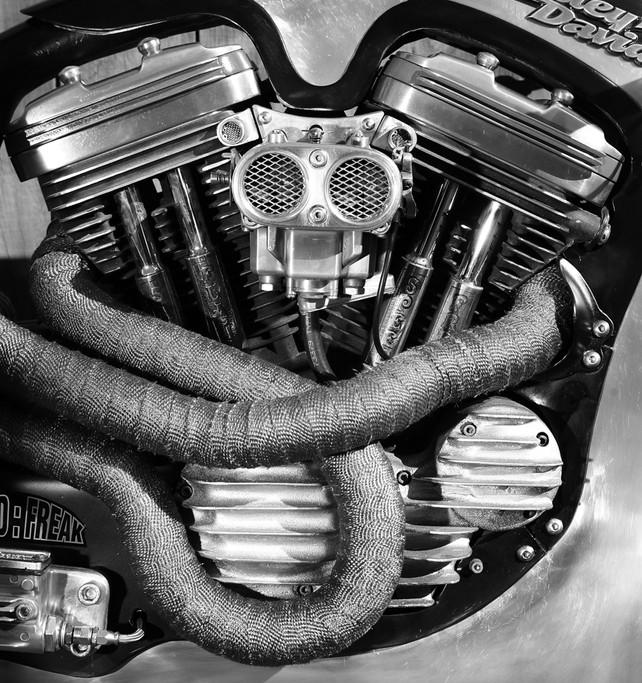 Speed Freak, Custom built motorcycle, Noel Connolly