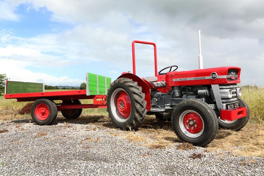 1965 Massey Ferguson 135 Tractor