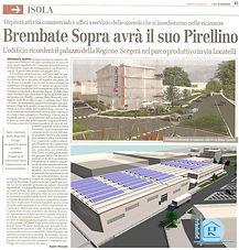 L'eco di Bergamo del 08/07/2010