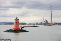 Poolbeg Lighthouse and the pigeon stacks