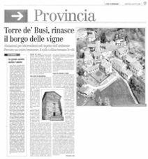 L'Eco di Bergamo del 05/08/2008