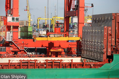 Container activities at Dublin Port