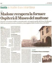 L'eco di Bergamo del 02/03/2011