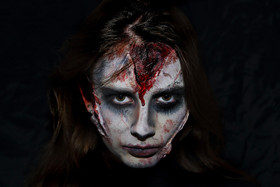 Horror make up, Halloween
