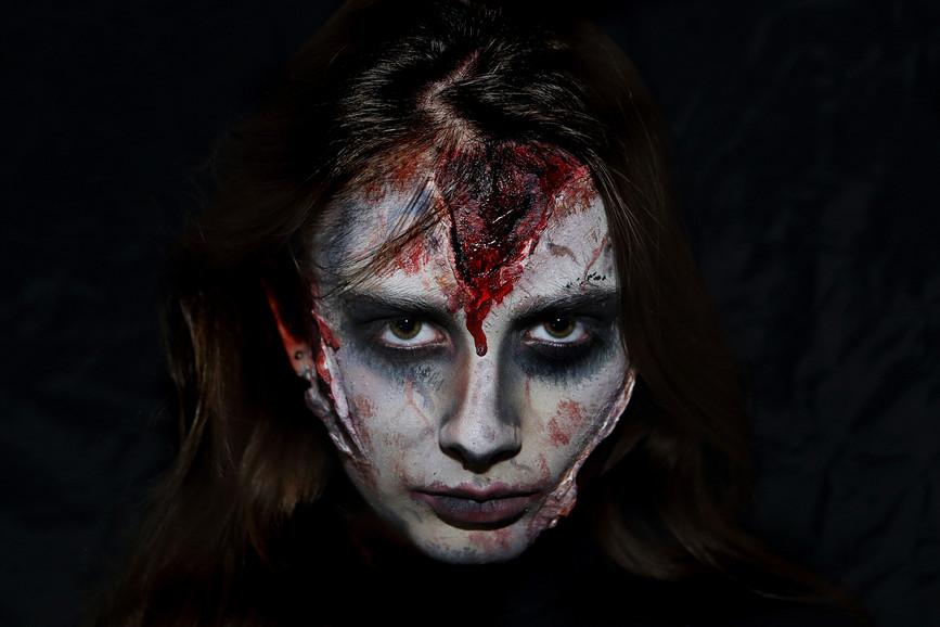 Horror make up, Halloween