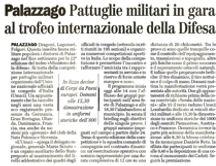 L'Eco di Bergamo del 16/05/2008