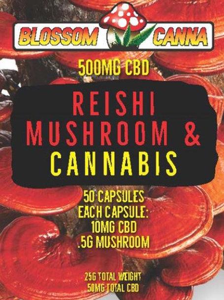 Reishi Blossom Canna CBD Capsules