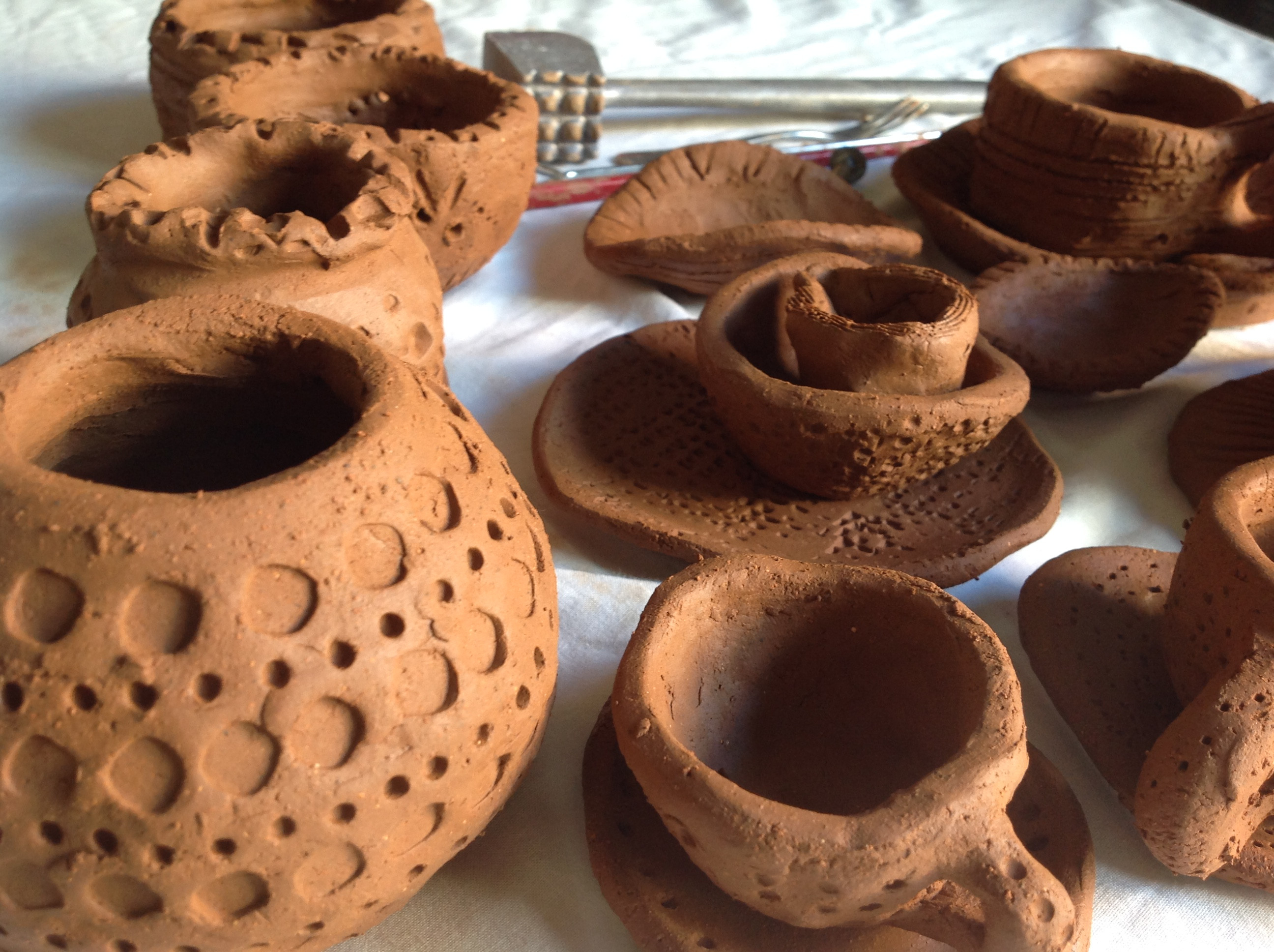 8 sessions.Children's Clay Workshops