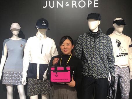 淺井咲希プロ「JUN&ROPÉ」とウェア契約締結