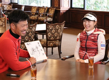 「ゴルフの翼NEXT」 今江敏晃さんvs鶴岡果恋さんシリーズ 1/25(土)~放送開始!