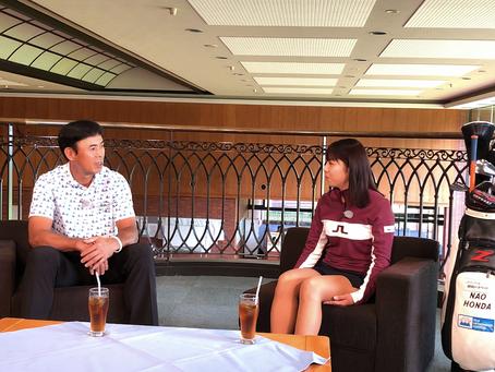 「ゴルフの翼NEXT」 田中幸雄さんvs本多奈央さんシリーズ 11/2(土)〜放送開始!