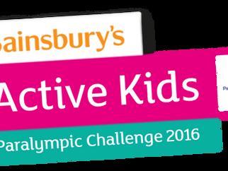 Sainsbury's Active Kids School Vouchers