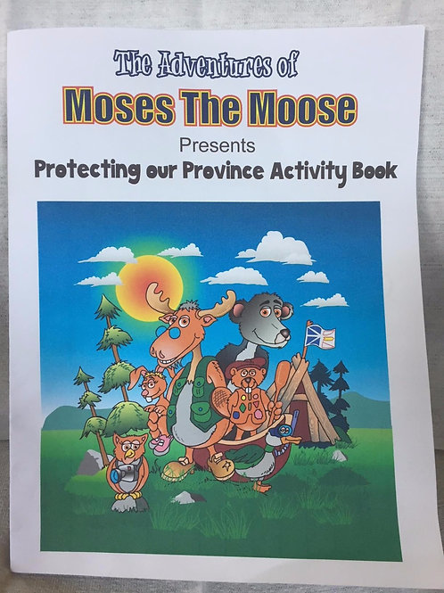 Moses the Moose Activity Book