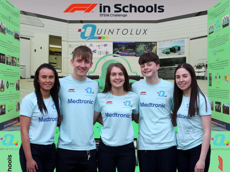Medtronic Gears Up for 3 Year Title Sponsorship of F1 in Schools Ireland
