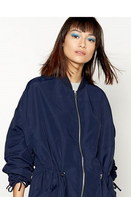 Lightweight Parka Jacket - Navy