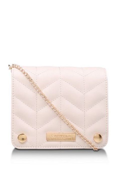 Cream 'Rhonda Evening Box Bag' Clutch Bag
