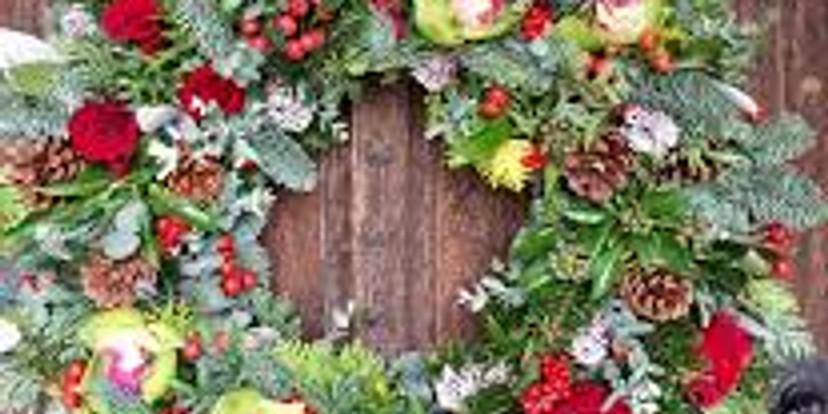 Making Fresh Christmas Wreaths