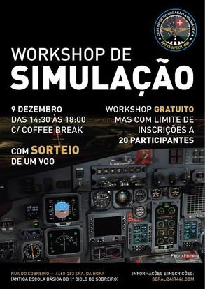 PRIMEIRO WORKSHOP DE SIMULAÇÃO NO CENTRO DE DIVULGAÇÃO AERONÁUTICA.