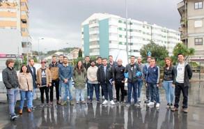 Visita dos alunos da Caetano Aeronautic, S.A.