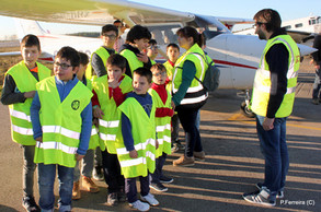 Visita à Escola de Aviação Nortávia.