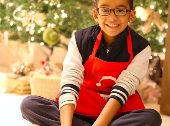 Andrea, fué la primera alumna en Kitchen & Manners Academy en el ciclo escolar 2015-2016