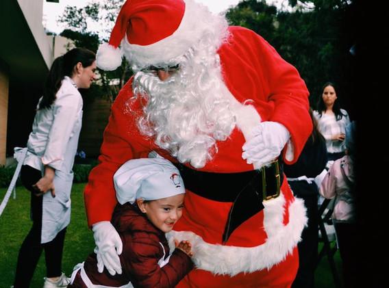 En el año 2018 Santa Claus asistió a nuestro evento!