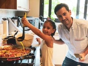 Happy Father's Day, no hay nada mejor que cocinar con papá!