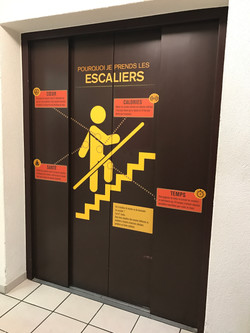 Signalétique ascenseur