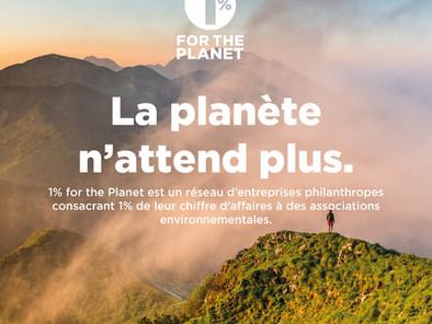 HECTOR devient membre de 1% pour la planète.